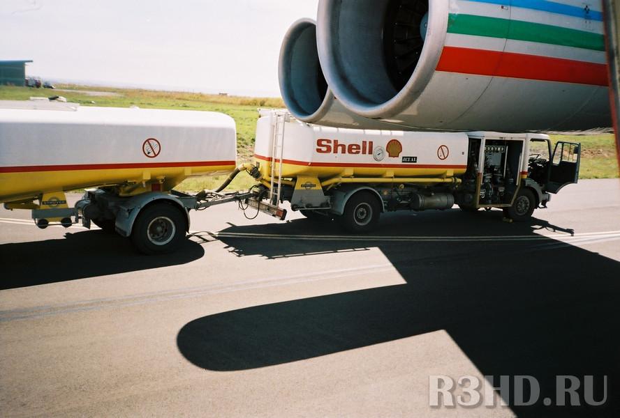 Заправка топливом в Адис-Абебе