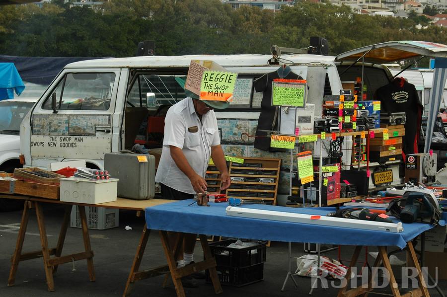 Рынок в Кейптауне