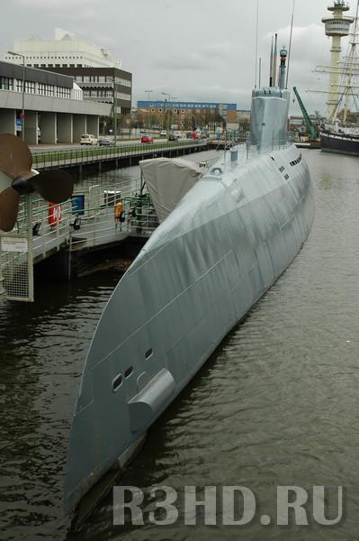 Подводная лодка – музей