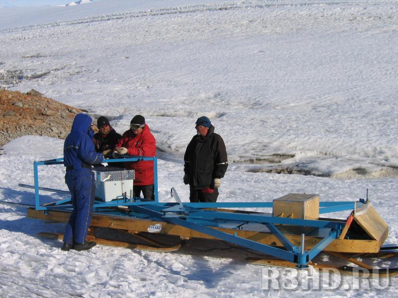 Доставка ретранслятора на аэродромную гору